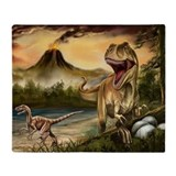 Dinosaur Fleece Blankets