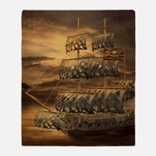 Pirate Ship Blanket