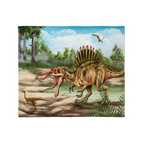 Dinosaur Species Blanket