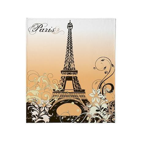 Eiffel Tower Paris Blanket