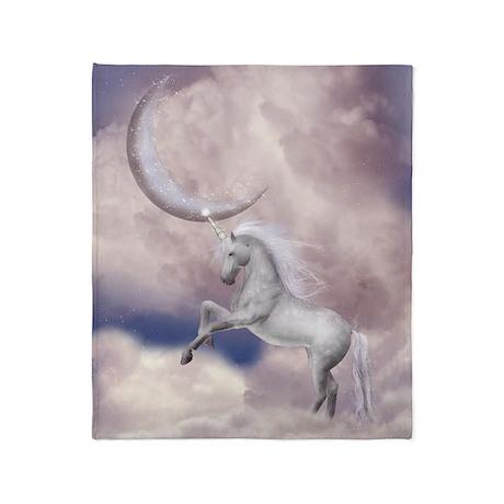 Magic Moon Unicorn Blanket