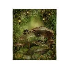 Enchanted Mushrooms Blanket