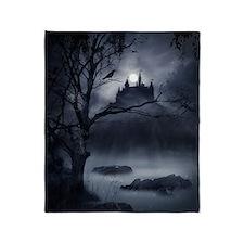 Gothic Night Fantasy Blanket