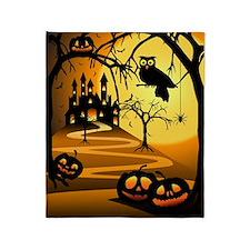 Halloween Castle Blanket