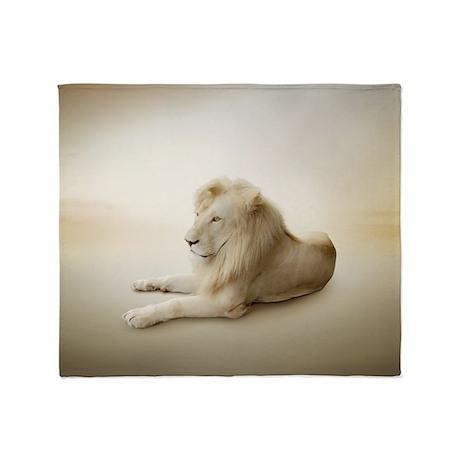 White Lion Blanket
