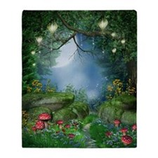 Enchanted Summer Night Blanket