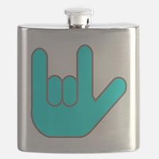 I Love You Cyan.gif Flask