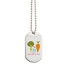 34 Year Anniversary Veggie Couple Dog Tags