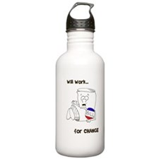 SR bill colored Water Bottle