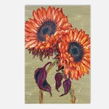 sunflowers_ipad Postcards (Package of 8)
