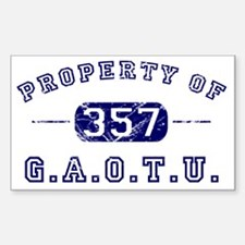 PropertyBlue Decal