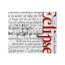 eclipse movie quotes twilight saga b Throw Blanket