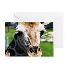 Giraff Greeting Card