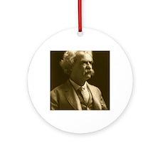 1906_portraitseated_bradley1242x153 Round Ornament