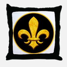 FleurYfauxBRtr Throw Pillow