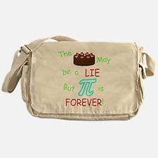 Cake vs Pi Messenger Bag