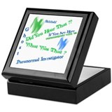 E.v.p Square Keepsake Boxes