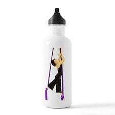 purple standing2 Water Bottle