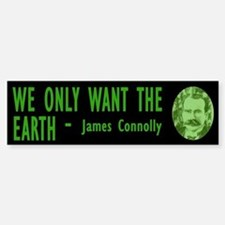 JAMES CONNOLLY Bumper Bumper Bumper Sticker