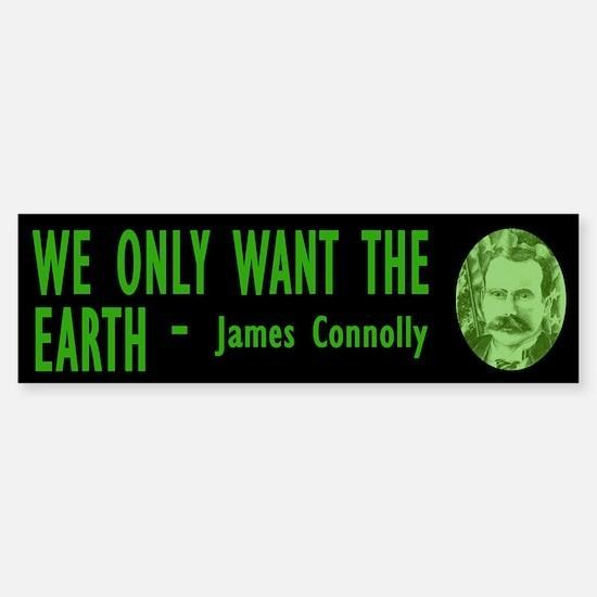 JAMES CONNOLLY Bumper Bumper Bumper Sticker