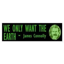 JAMES CONNOLLY Bumper Bumper Sticker
