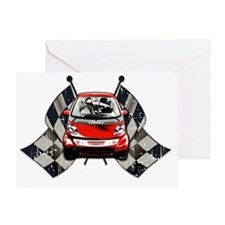 Smart Checkered Greeting Card
