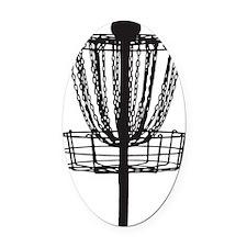 DG Basket Oval Car Magnet