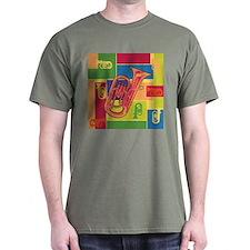 Euphonium Colorblocks - T-Shirt