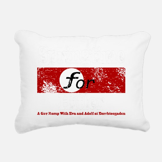 springtime_white Rectangular Canvas Pillow