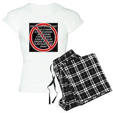 The Shadow Government Pillo pajamas