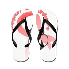 Support the survivors ribbon mousey T Flip Flops
