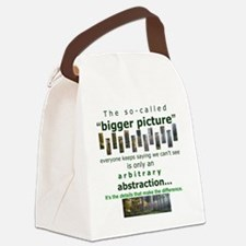 Aspie 2 Canvas Lunch Bag