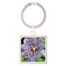 Passiflora Tote Bag Square Keychain