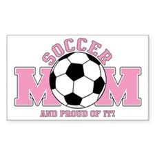 Proud Soccer Mom Decal