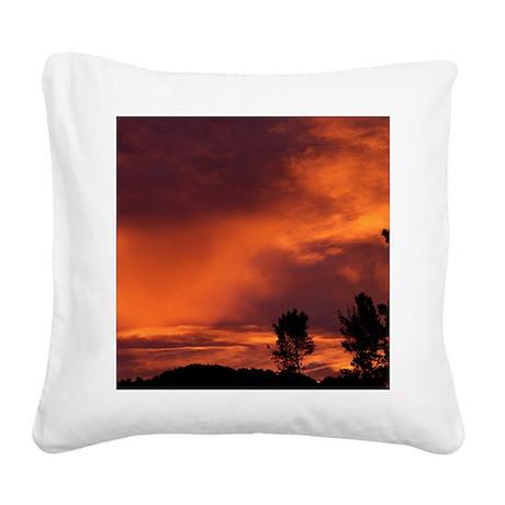 100_4521-Aug Square Canvas Pillow