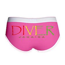 DiverRastaJamaica 4BLKCLR Women's Boy Brief