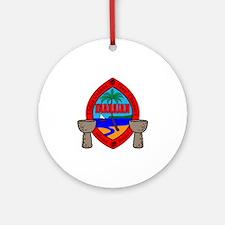 Inarajahan Round Ornament