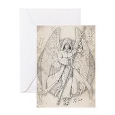 RaphaelNEW10x14 Greeting Card