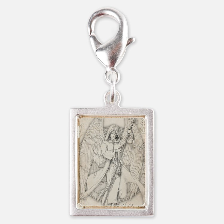 RaphaelNEW10x14 Silver Portrait Charm