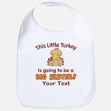 Big Sister to be Turkey Bib