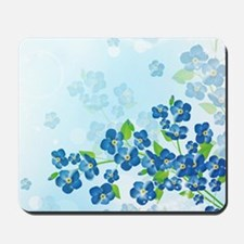 Forget Me Not Flowers Mousepad