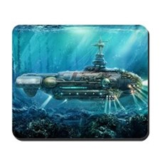 Steampunk Submarine Mousepad