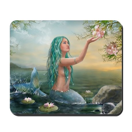 Marine Mermaid Mousepad