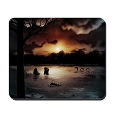 Loch Ness Painting Mousepad