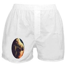 oval shadowy heidi Boxer Shorts