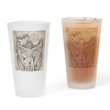 UrielSquare Drinking Glass