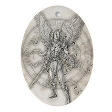 MichaelNEW10x14 Oval Ornament