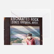 enchanted.rock.WE_THOMAS Greeting Card