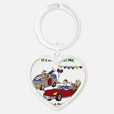car dealer-color3-FINAL-Crop Heart Keychain