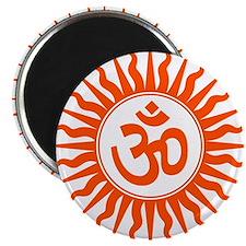 Spiritual Om Design Magnet